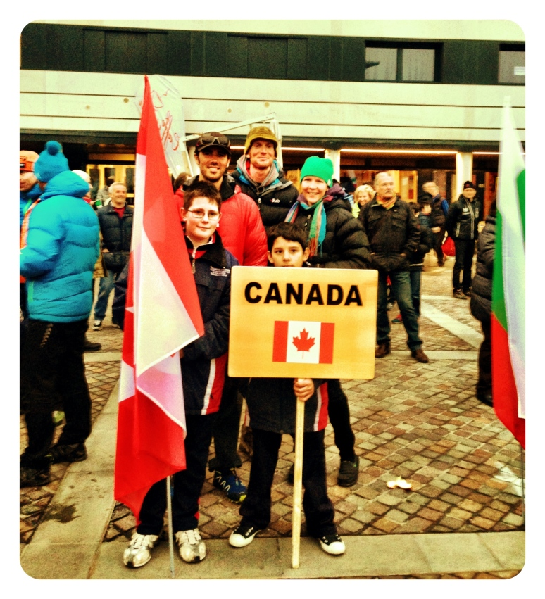Team Canada @ the 3rd stop on the World Cup Circuit